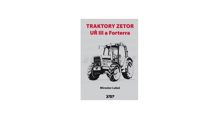 Zetor 888501164 Kniha - Traktory UŘ III a FRT