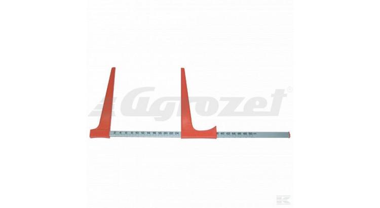 BAHCO 2802BAH Posuvné měřítko na kmeny 500 mm