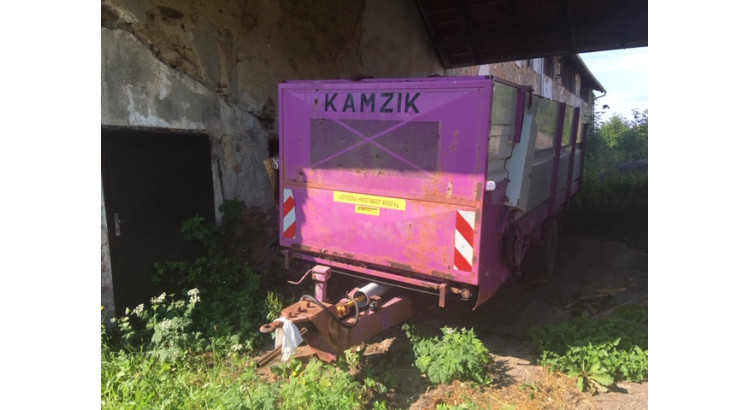 Krmný vůz STS Olbramovice Kamzík Maxi