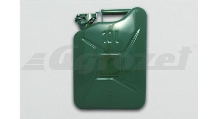 Kanystr plechový 10 litrů