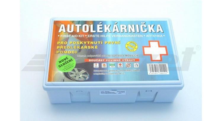 Autolékárna krabička dle vyhlášky 283/2009
