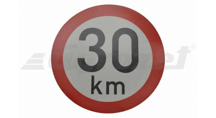 Samolepicí rychlost refl. tř.1 30 km, pr. 200 mm
