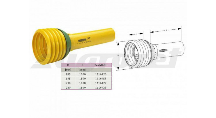 Kryt PGH A 30, 1000 mm