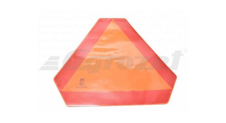 Trojúhelník samolepka