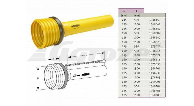 Kryt SD 05, 1500 mm, vnitřní