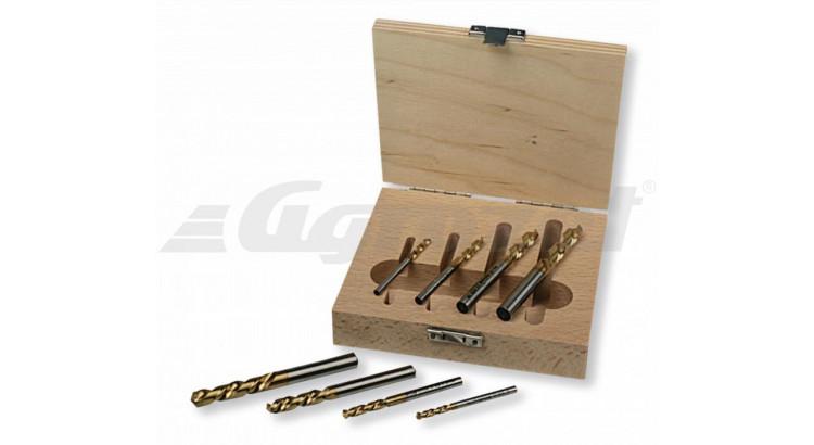 Berner 165389 Vrtáky levotočivé 3-4-6-7mm sada
