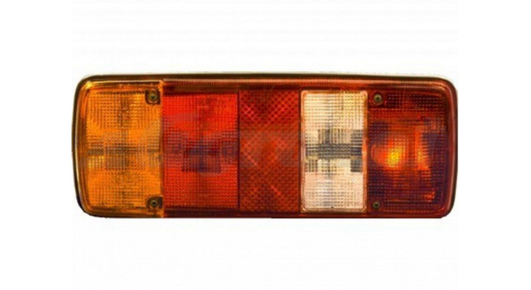 Kryt svítilny L+P 5-komorové