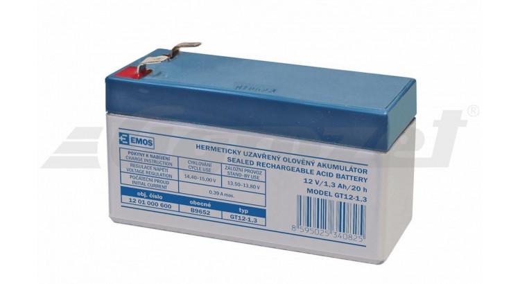 Akumulátor SLA 12 V 1,3 Ah