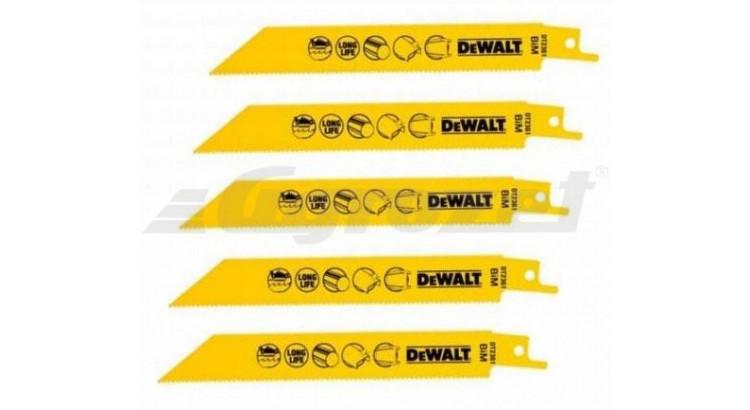 DeWALT DT2361 Pilové listy pro řezání kovu 5ks