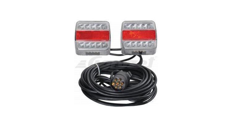 Svítilny skupinové - magnetické LED12V, kabel 12m