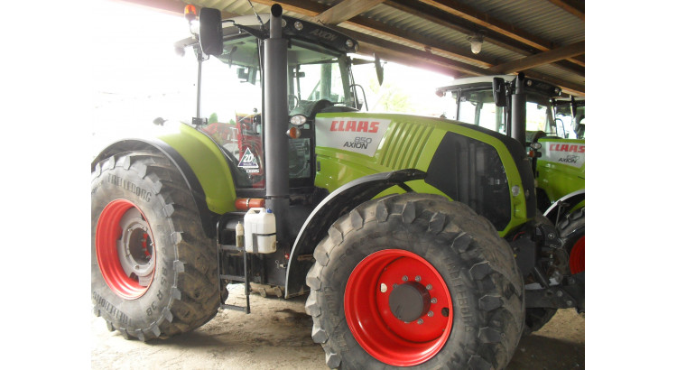 Traktor Claas Axion 850 CEBIS