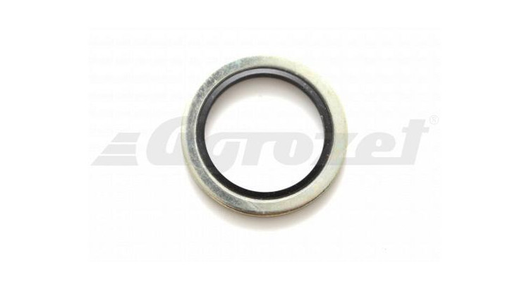Kroužek USIT ocelový s gumičkou NBR 70 ( -30°C/+100°C )