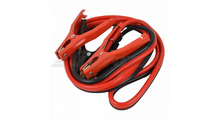Kabel startovací na osobní automobily max. 600A; 2,5 m;16 mm2 (kleště+kleště)