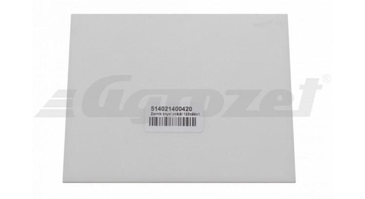 Zorník krycí vnější 123x99x1,0 mm k ASK400