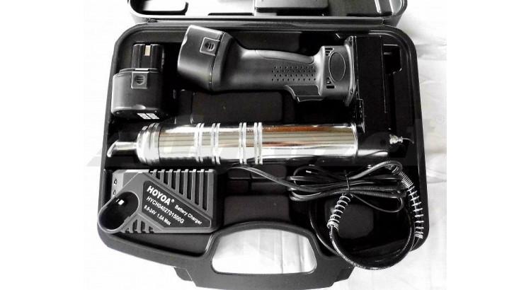 Hoyoa SD2022 Lis akumulátorový 500 cm3 12 V 400 bar 2x1500 mAh