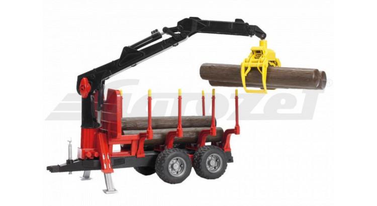 Přepravník na dřevo s rukou Bruder 02252