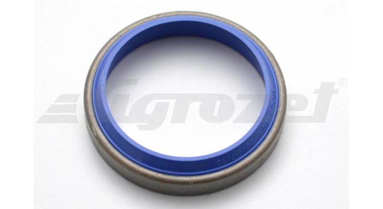 Kroužek stírací 40x50x7/10 modrý plech AM 44, AU 95