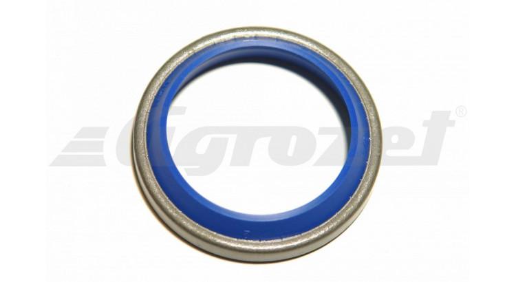 Kroužek stírací 32x42x5/7 modrý plech AM 44, AU 95