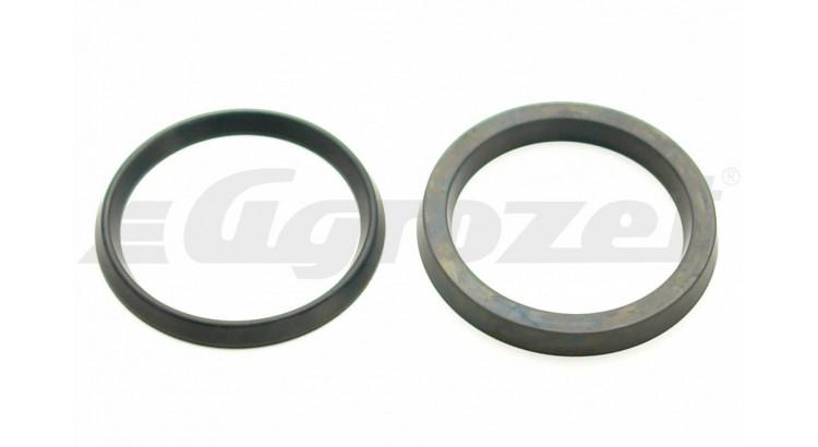 Manžeta U 45,6x55x4  pneumatická +přítlačný kroužek