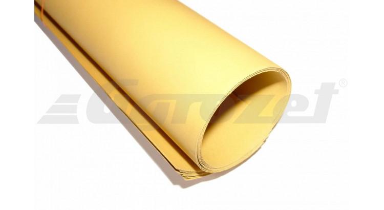Rotěs žlutý 1 m x 0,7 m, síla 0,5 mm max. teplota +100°C
