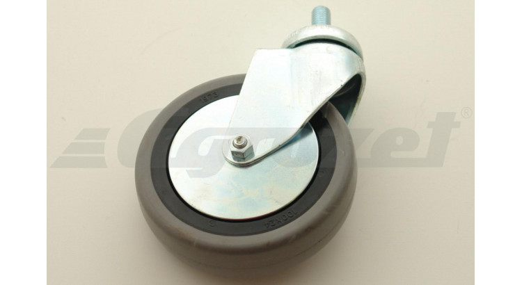 Kolo otočné EGA 80/VLP M10x25 šedá guma