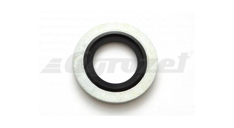 Kroužek USIT ocelový s gumičkou NBR 70 -30°C/+100°C