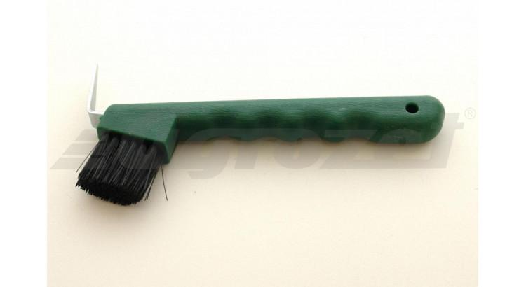 Háček na kopyta z odolného plastu zelený