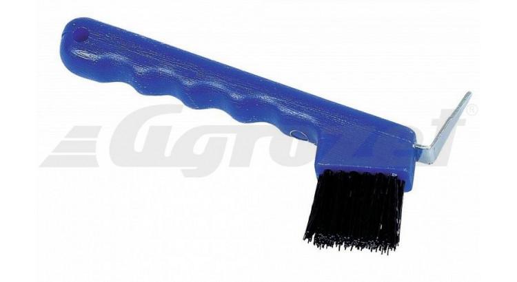 Háček na kopyta z odolného plastu modrý