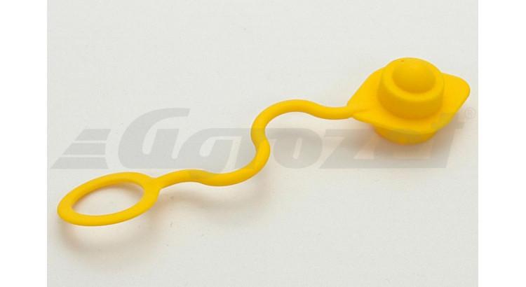 Kryt rychlospojky zástrčky ISO 12,5 žlutý