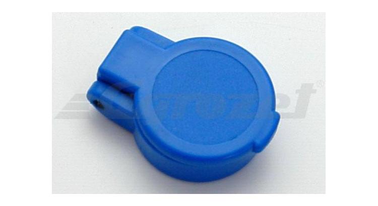 Kryt rychlospojky zásuvky samozavírací ISO 12,5 modrý