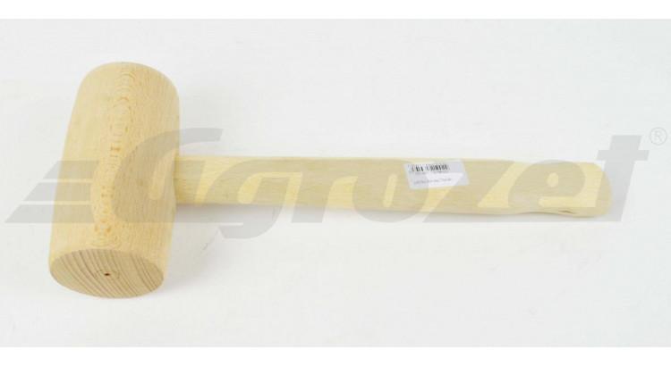Palička dřevěná  buk 140x70 mm
