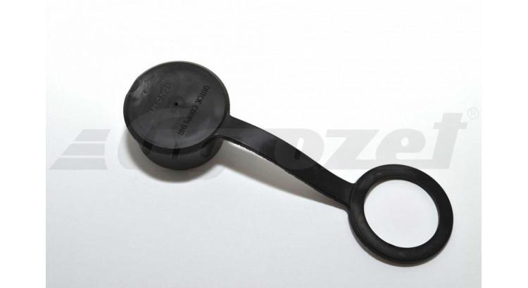 Kryt rychlospojky zásuvky ISO 12,5 černá velká oko 38