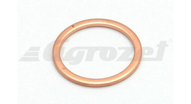 Kroužek těsnící Cu M18 x 1,5