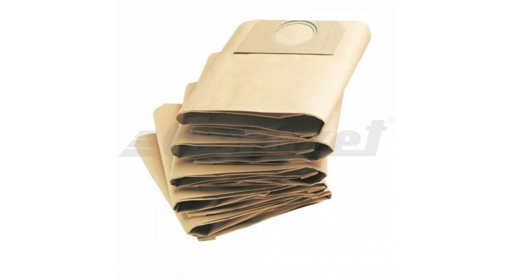 Lobster Sáček filtrační papír pro Narex VYS 20-01, Makita VC2010L, VC2012L - 5ks