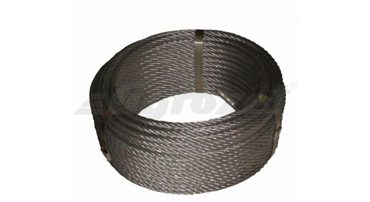 Lano ocel. 10mm 40m/DD Seal 114 drátů
