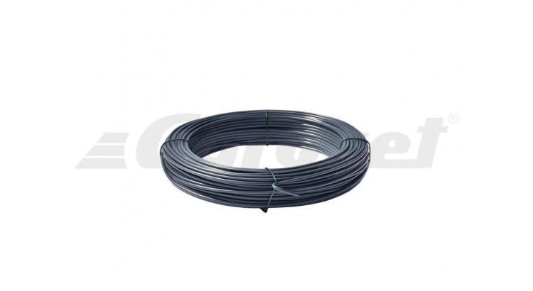 Drát napinací plast 3.4 mm PVC cívka 26m