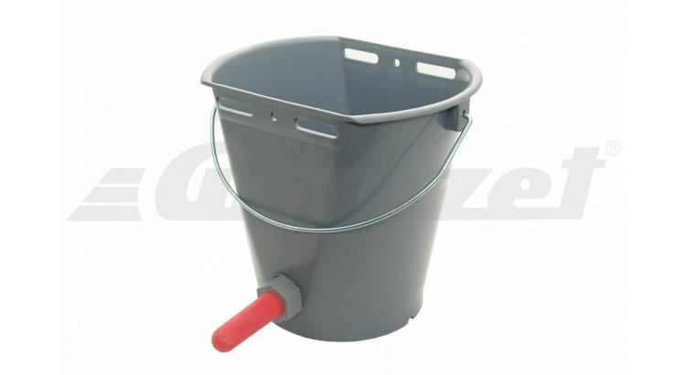 Kbelík napájecí pro telata bez dudlíku a ventilu