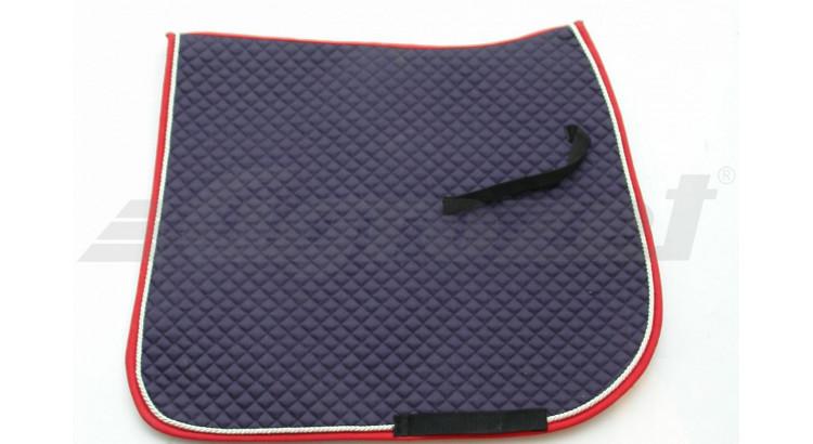 EQUEST 321329 Čabraka modrá/bílá/červená drezurní