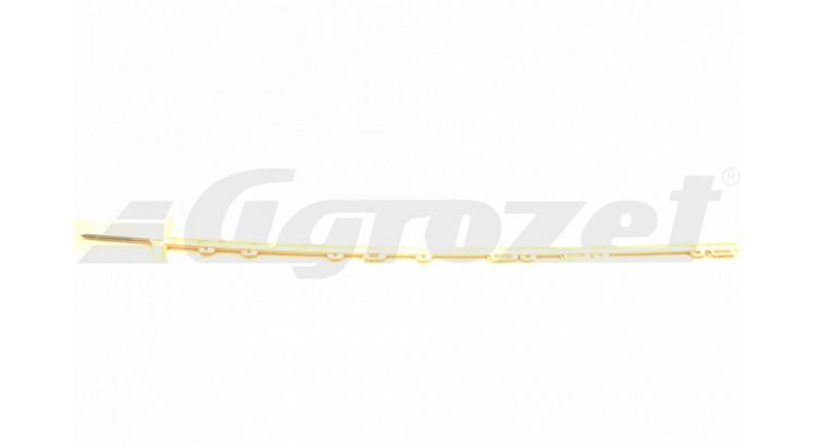 Tyč ohradníková umělohmotná 2 nášlapky 156 cm