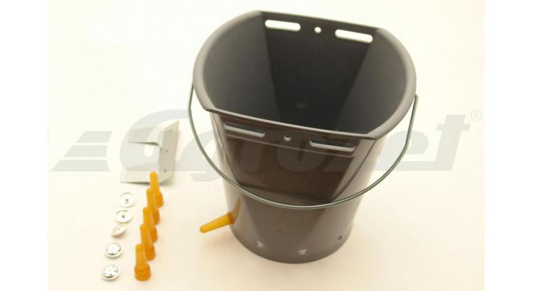Kyblík pro jehňata s šesti dudlíky vč ventilů
