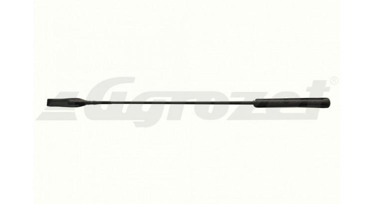 Bičík jezdecký s koženou plácačkou 65 cm