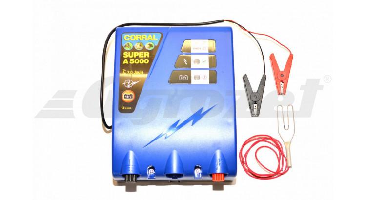 Corral Super A 5000 Zdroj ohradníkový akumulátorový 12V