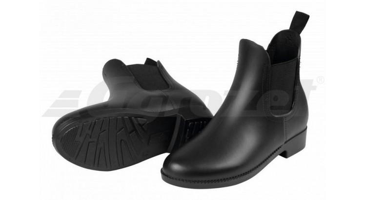 Boty jezdecké nízké PVC Villaco vel. 36 černé