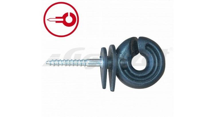 Izolátor pro elektrické ohradníky CZ 131 kruhový s vrutem 5 mm