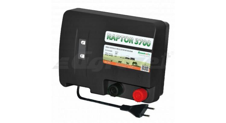RAPTOR 3700 Elektrický ohradník - optická kontrola napětí určen pro skot ovce