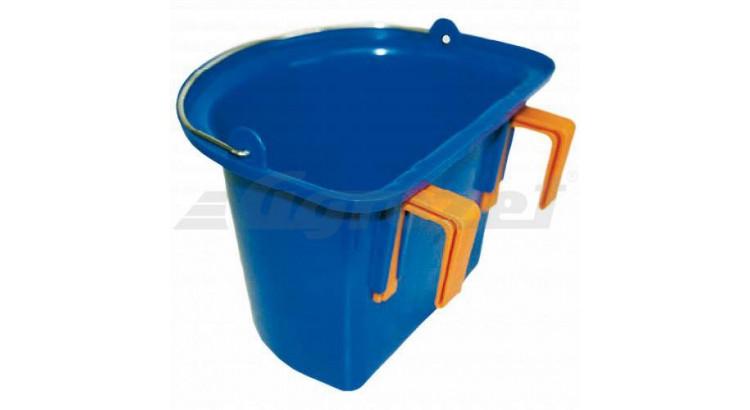 Kbelík pro koně bez držáku 12 l modrý