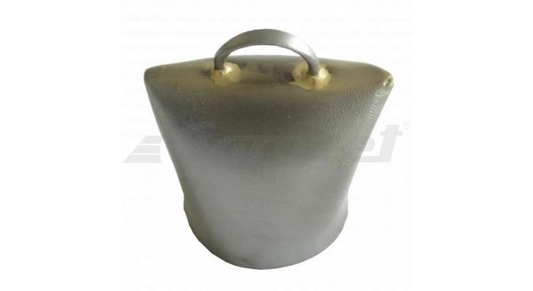 Zvonec plechový 45 mm leštěný švýcarský model