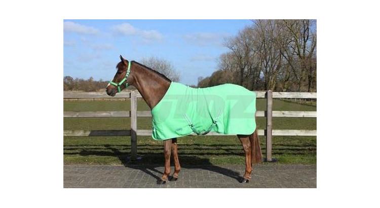 Odpocovací deka QHP zelená vel 125/175 cm