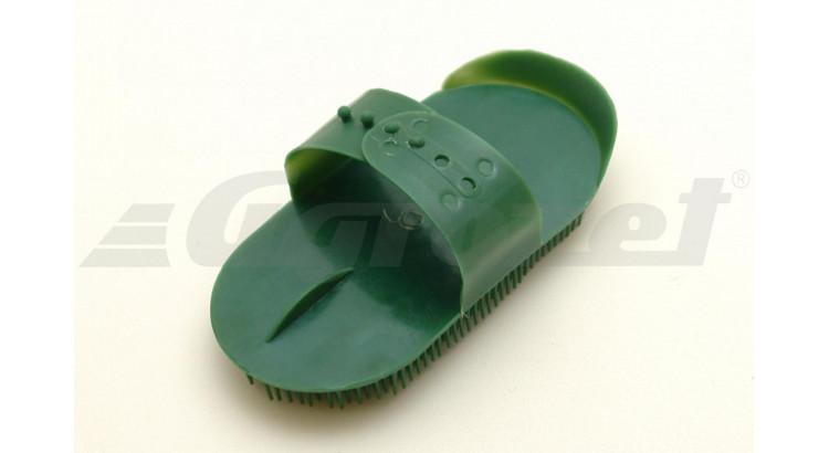 Hřebelec s jehlovými štětinami plastový zelený