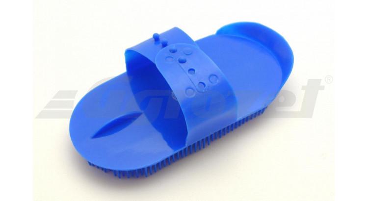 Hřebelec s jehlovými štětinami plastový modrý